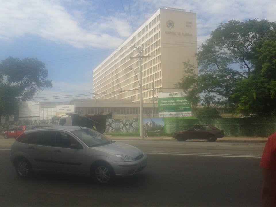 Hospital de Clínicas de Porto Alegre HCPA, Poa RS 2015B