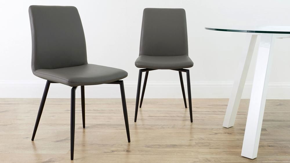 leather dining chairs modern teal rocking chair bella real buy