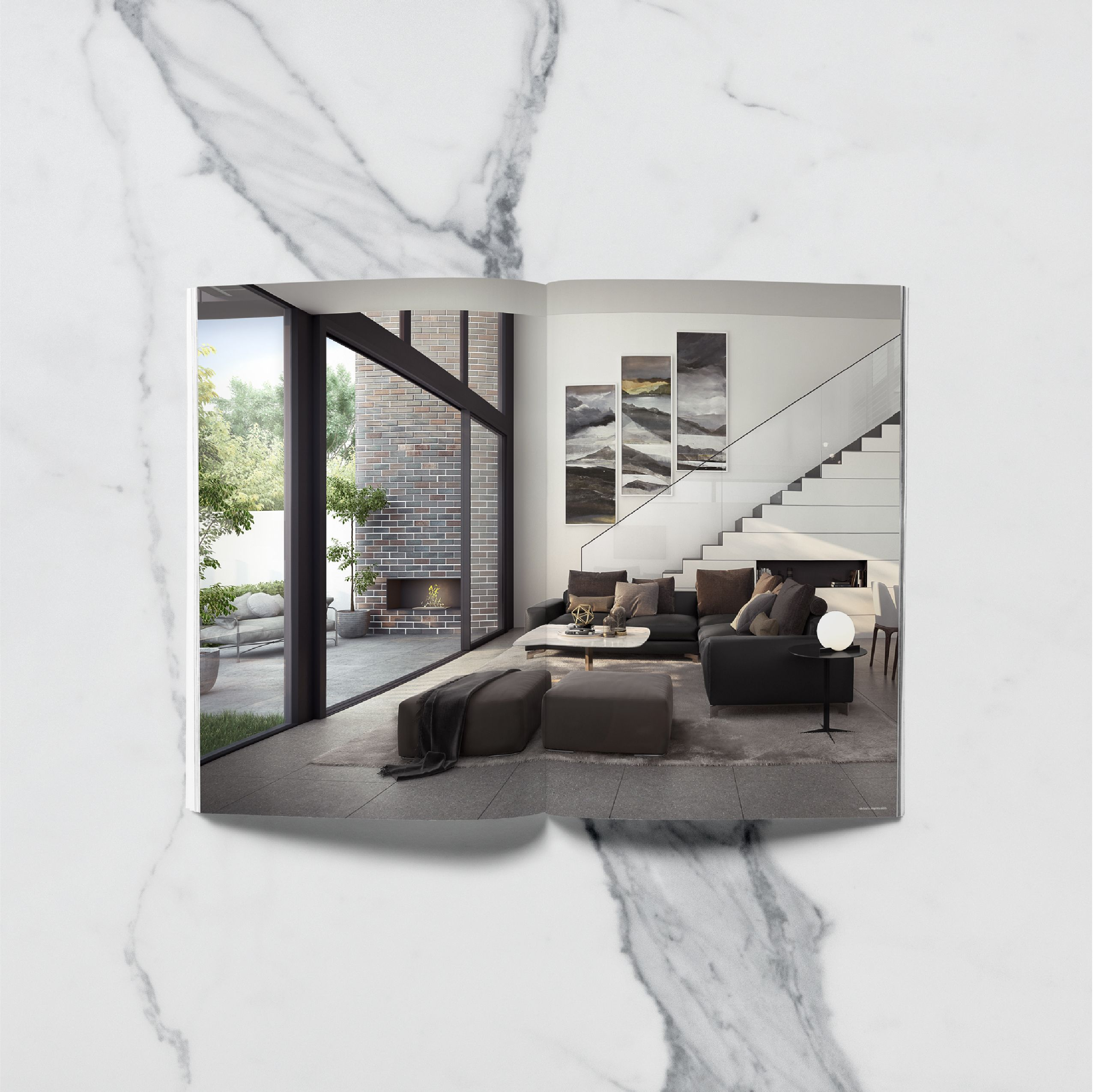 A4 Print Brochure For Tria A New Development In O Connor Act By