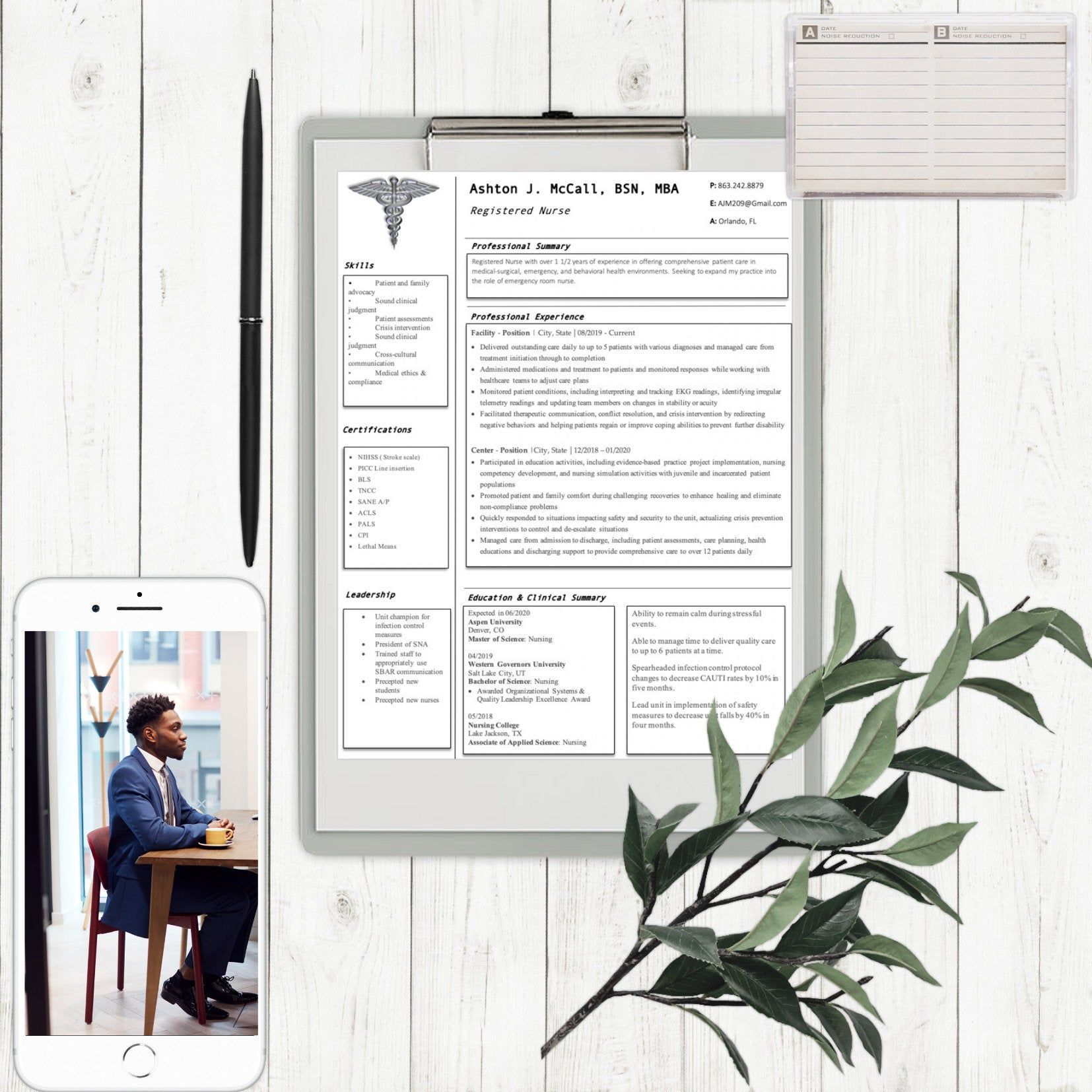 Nurse resume templateashton in 2020 nursing resume