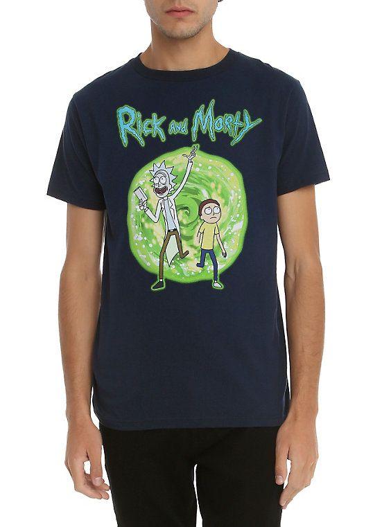 9f78b98718 Rick And Morty Portal T-Shirt | Rick and Morty :WUBALUBADUBDUB ...