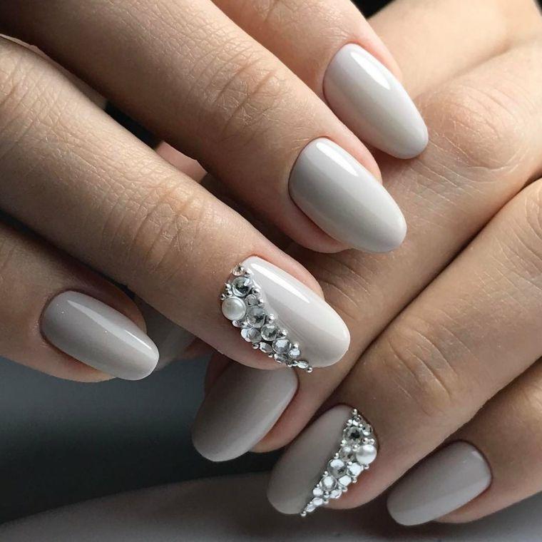 29+ Nail art grigio e rosa trends