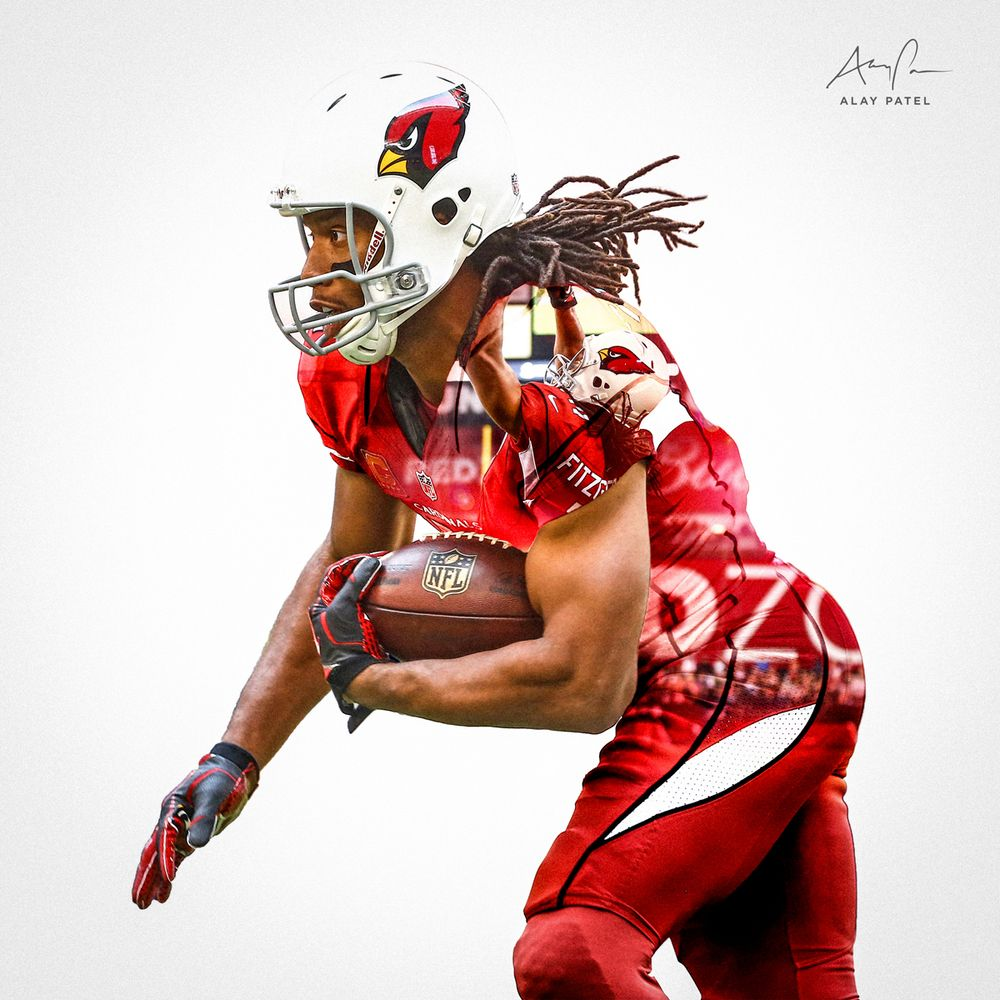 Larry Fitzgerald WR Arizona Cardinals Design By Alay Patel March 2014