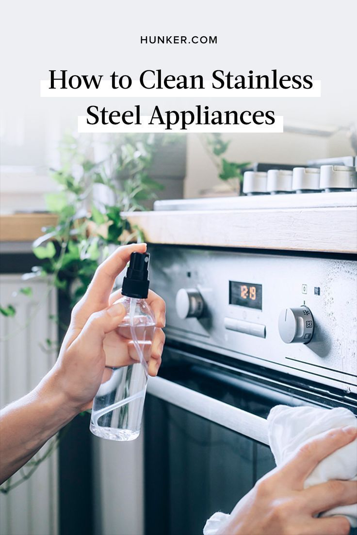 How to Clean Stainless Steel Appliances Cleaning