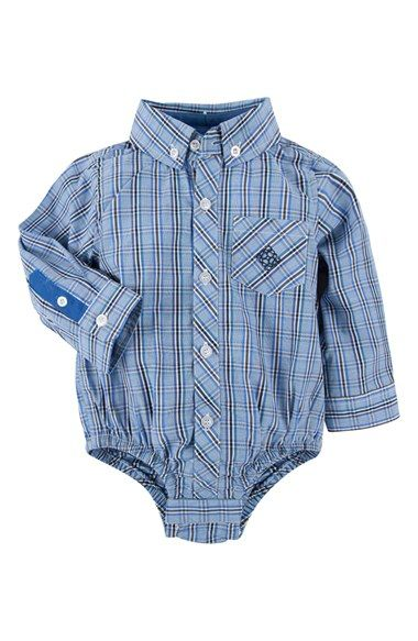 99c8663a1c0d Infant Boy s Andy   Evan  Shirtzie  Check Chambray