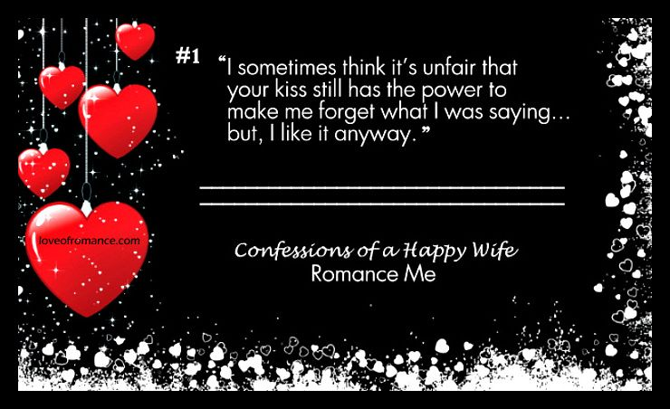 Confessions Of A Happy Wife Quote Romance Me Wife Quotes
