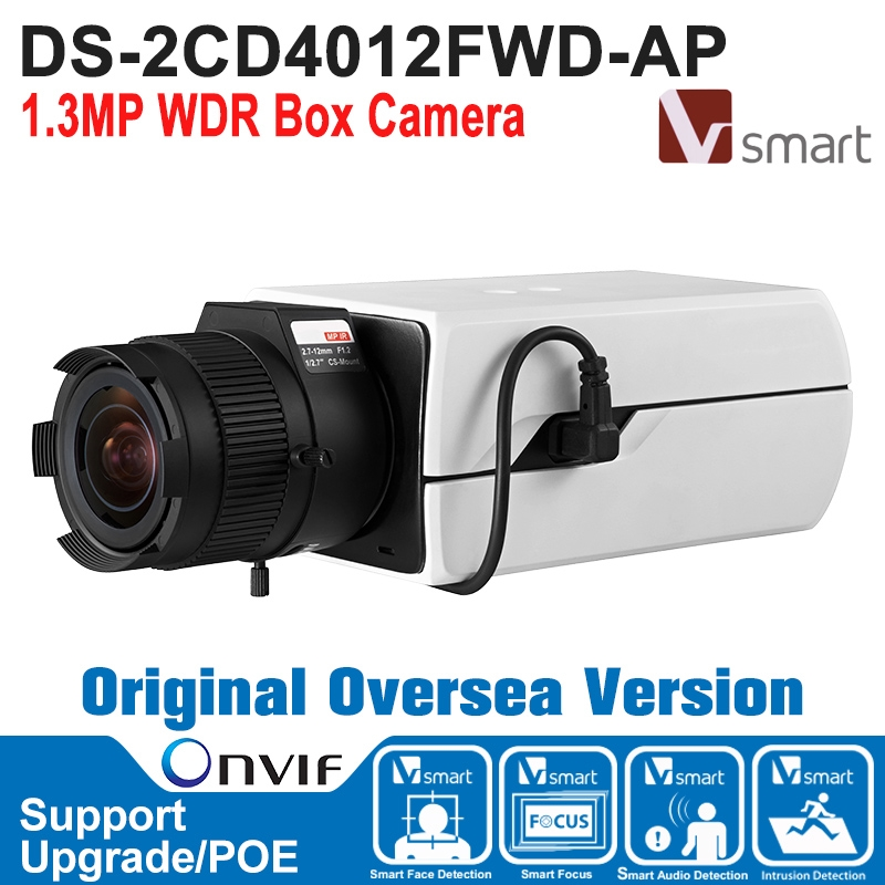 312.50$  Buy here - http://ali47j.worldwells.pw/go.php?t=32779466039 - Hik IP Camera 1.3MP DS-2CD4012FWD-AP IP Camera POE 1.3MP WDR Box Camera IP Camera Built-in Micro SD/SDHC/SDXC Card H.264+ 312.50$