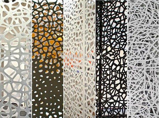 le m tal d coup au laser perfor e en aluminium panneau d coratif avec test leed f a c e. Black Bedroom Furniture Sets. Home Design Ideas