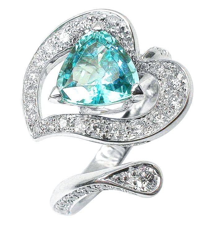 Arum ring Namibia and diamonds Mathon Paris fredericmane paris