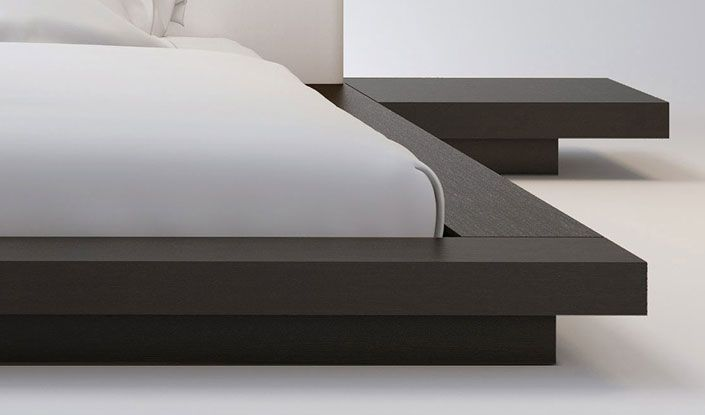 Worth Cal King Bed | Platform Bed Ideas | Pinterest | Lit, Chambre ...
