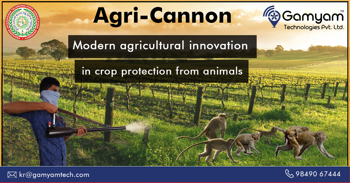 AgriCannon Monkey ScarerBird Scarer Crop protection