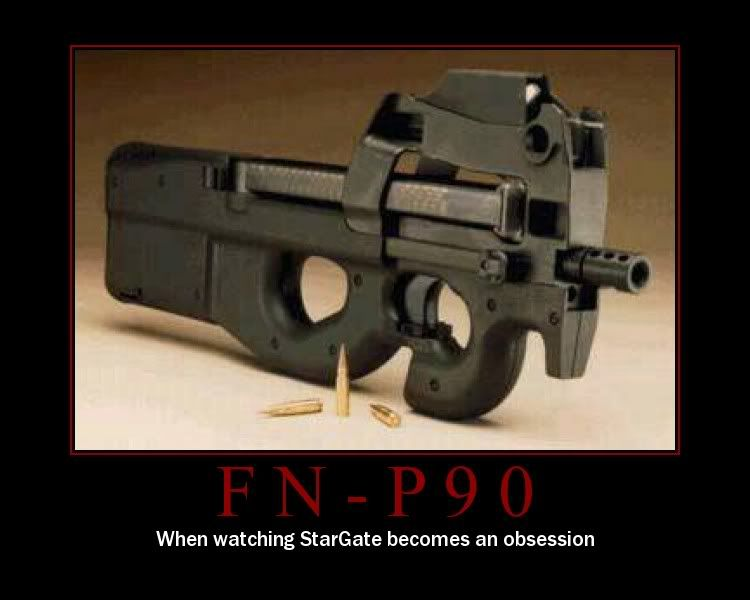 P90 SG1 issue my geek side t Weapons Guns and