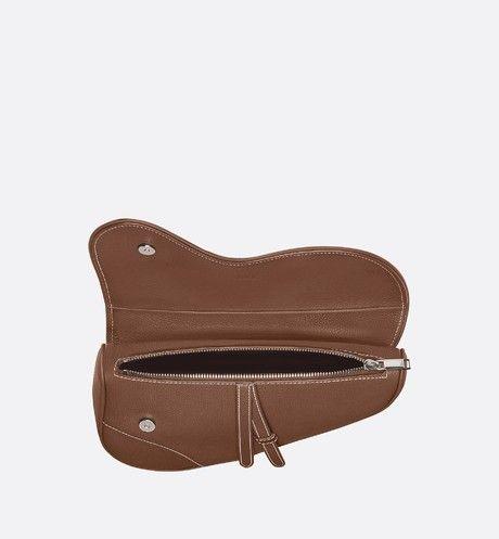 Saddle Bag in Brown - Leather goods - Man | DIOR | Dior. Men dior. Saddle bags