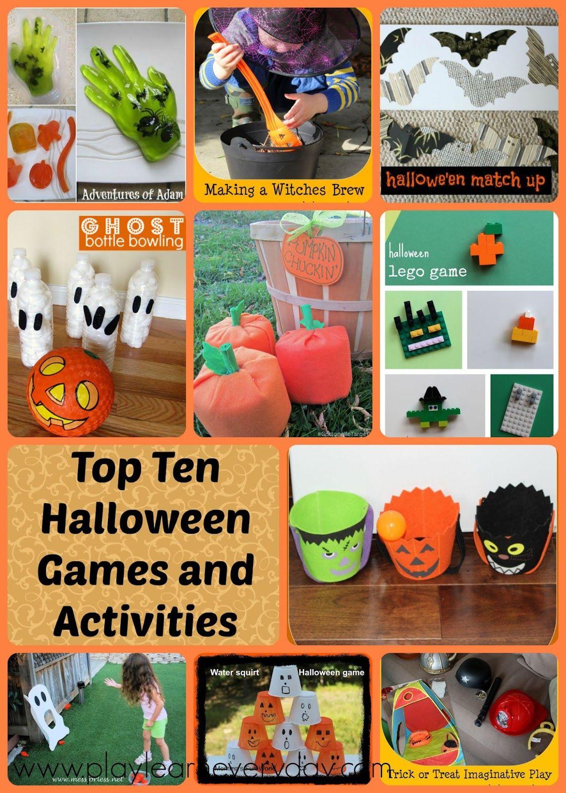 Top Ten Halloween Games and Activities   Halloween games ...