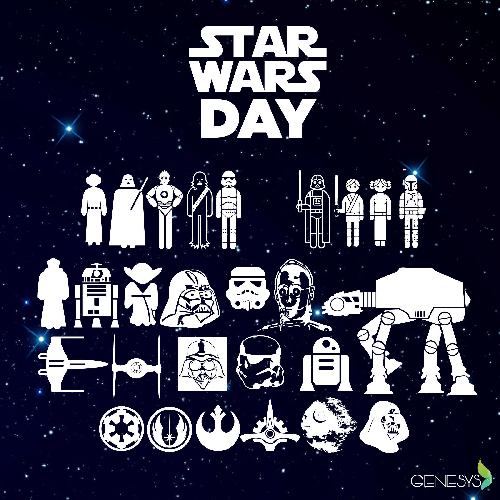 May The 4th Be With You! May 4th Has Become Commonly Known