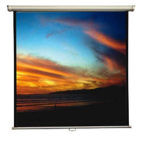 Mustang SC-M6011 60 x 60-Inch Mustang Manual Screen by Mustang. $62.15. Mustang's manual projection screens easily install to a wall or ceiling, and effortlessly pull down and roll back up into the case. When looking for clean-line design that also delivers top-of-the-line performance, choose Mustang's manual projection screen. This screen easily pulls down to watch a movie or view a presentation, and then rolls up into its scratch resistant steel white case. With pres...