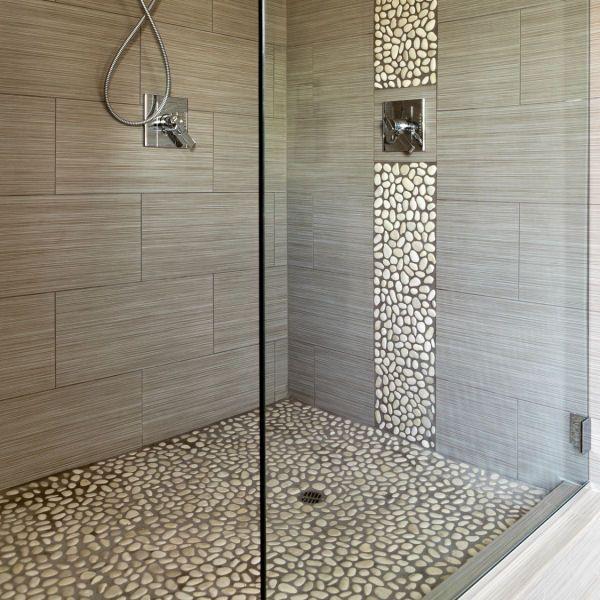 Hervorragend frei begehbare Dusche ohne Duschtür | Natural soap and spa QZ54