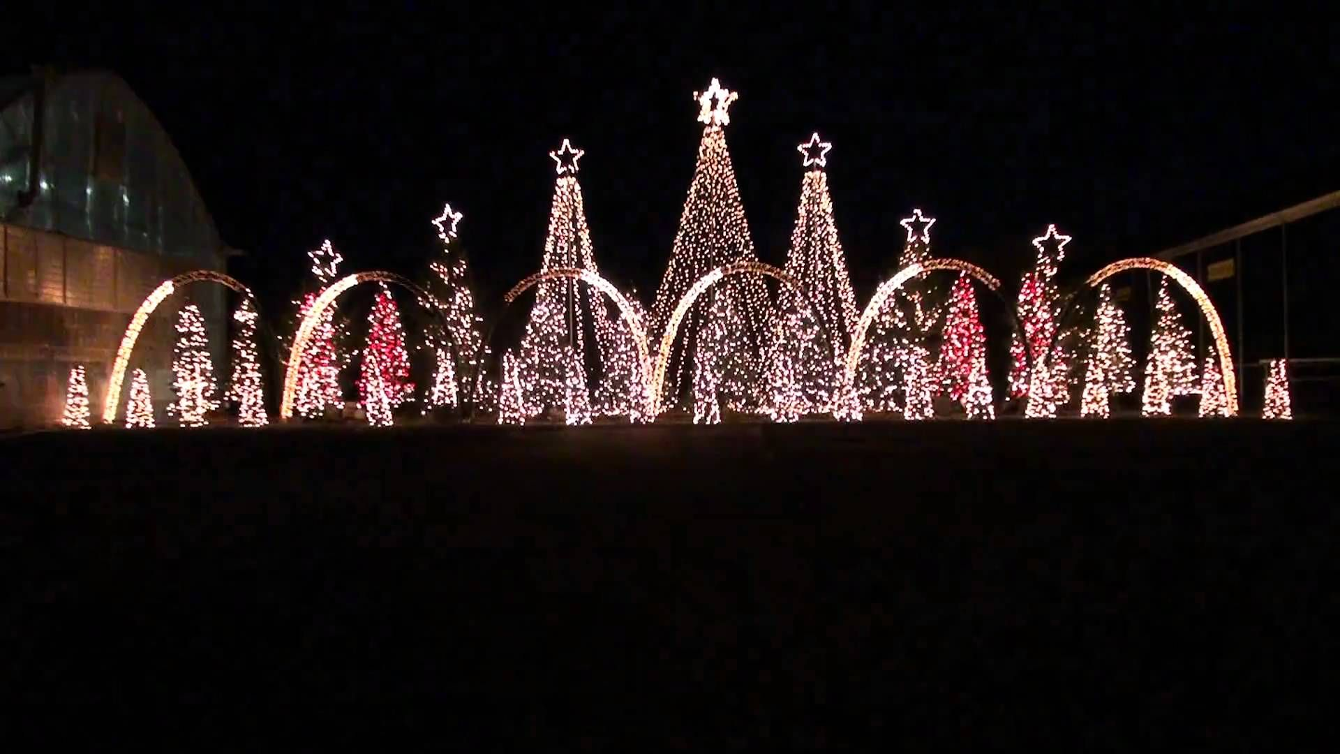 Attractive Amazing Grace Techno   Synchronized Christmas Light Show To Music