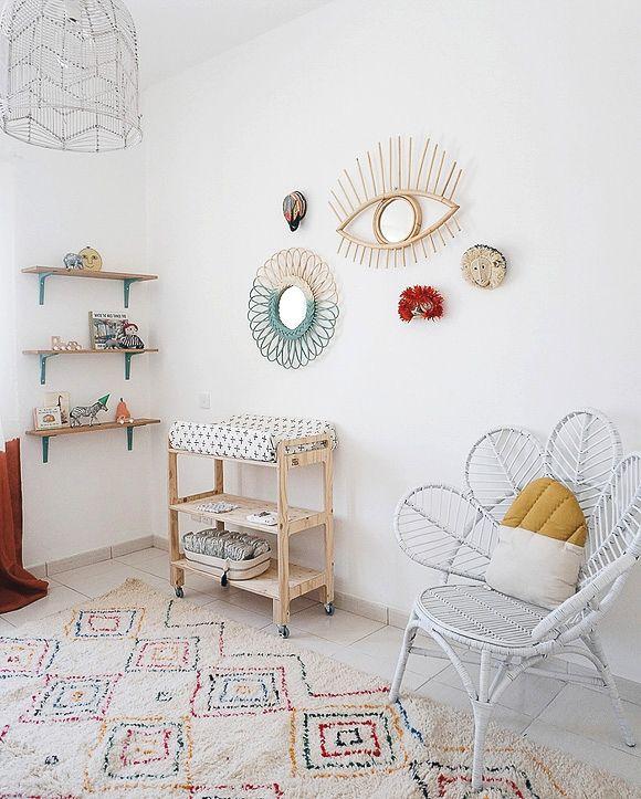 Chambre Bebe Style Boheme Une Deco Nature Deco Chambre Enfant