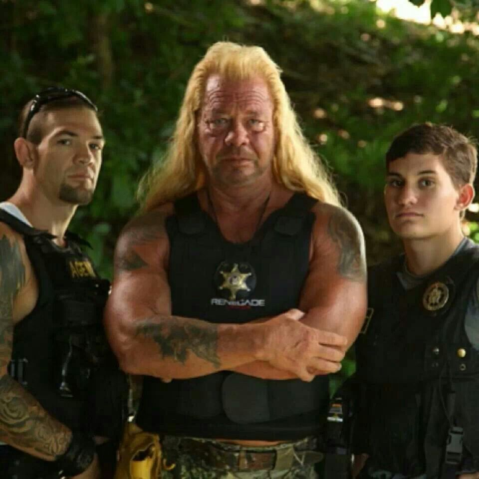 3 generations of bounty hunters duane dog the bounty for Duane chapman dog the bounty hunter