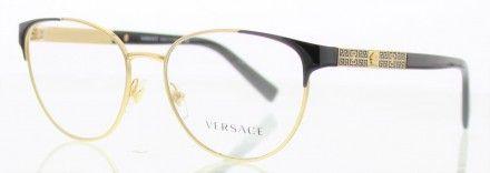 VERSACE VE1238 Doré 1002   Lunettes de vue Versace   Pinterest   Versace bbc5100b4d72