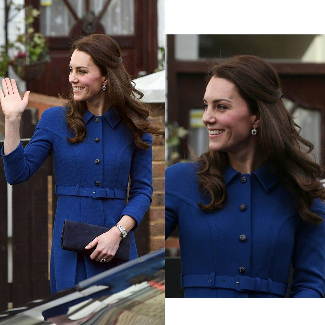 #KateMiddleton visits The Anna Freud Centre on January 11, 2017 in London, England  Kate Middleton visita il centro Anna Freud l' 11 gennaio 2017