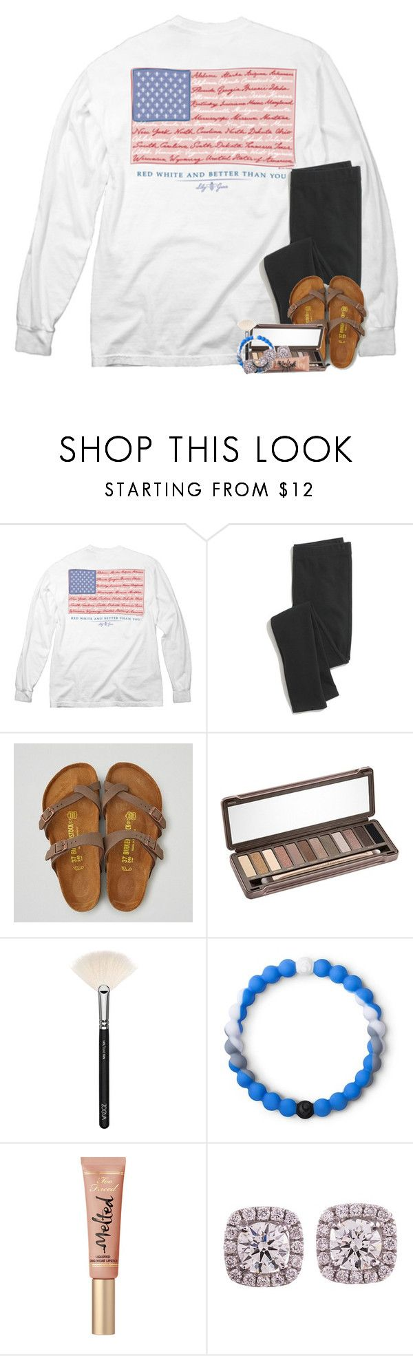 """""""i don't know what it's like to not have you on my mind..."""" by theblonde07 ❤ liked on Polyvore featuring Madewell, American Eagle Outfitters, Urban Decay, ZOEVA and Lokai"""