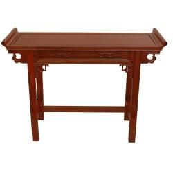 Rosewood Honey Qing Hall Table (China)