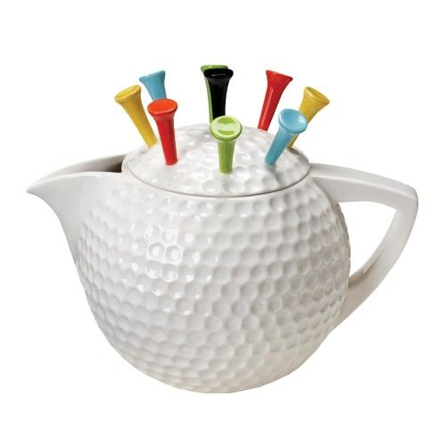 Artist Gallery Tee Pot Tea Pot, White