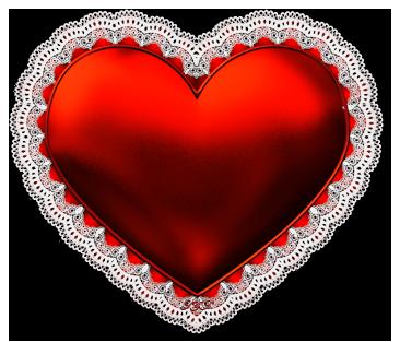 Pink Lace Heart Glenda S World Png 955 898 Free Valentine Valentines Valentines Svg