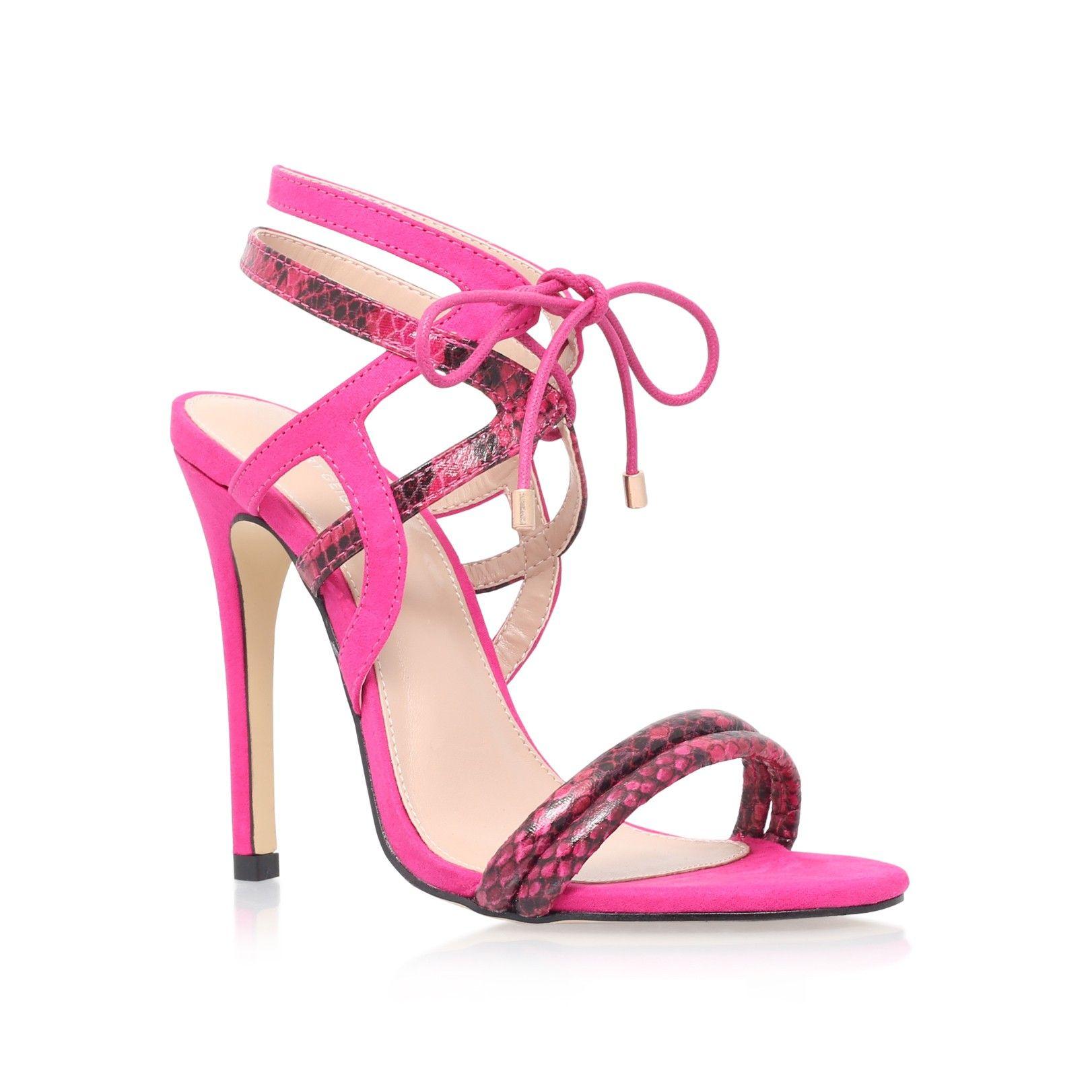 luxor pink high heel sandals from Carvela Kurt Geiger | A heels 1 ...