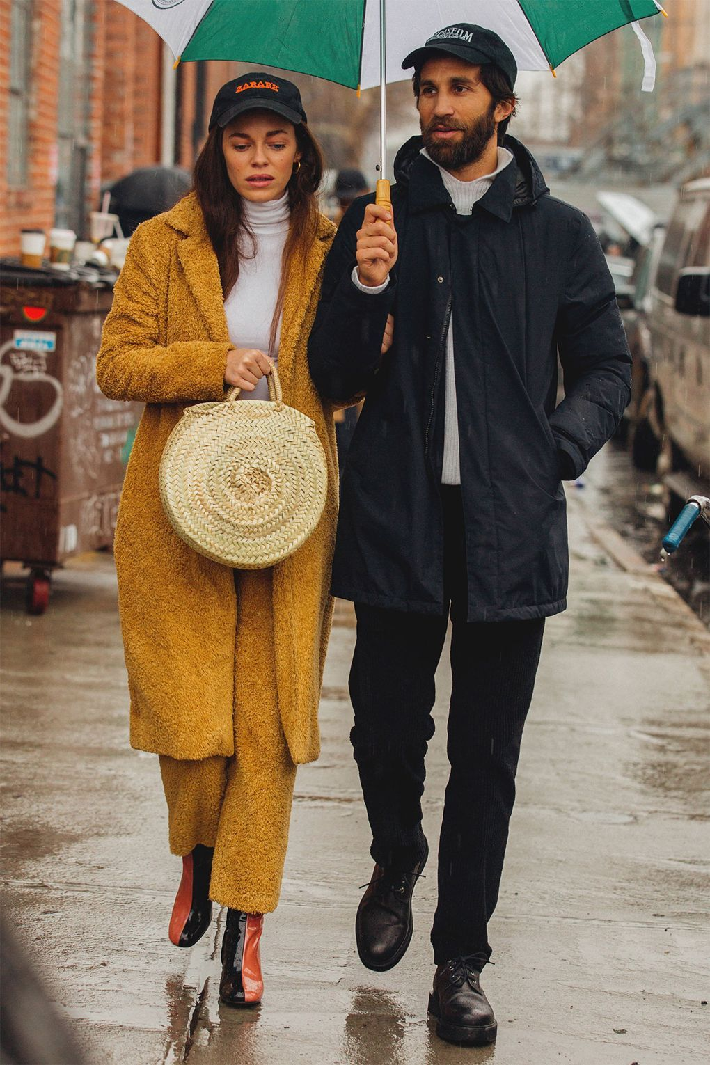 The Best Street Style From New York Fashion Week Couple Style