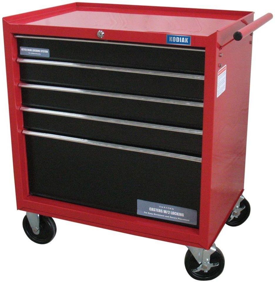 26 In. 5 Drawer Rolling Tool Cabinet #RollingToolCabinet