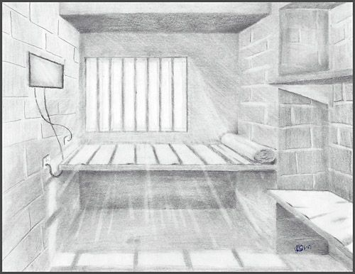 Drawing In Jail Reentrt Mentor Survey Recruiting Americorp Vista Hosts Prison Produces Entrepeneurs Jail Cell Drawings Jail