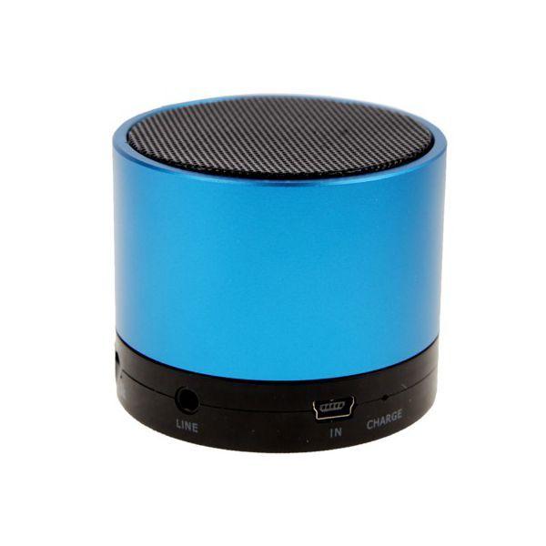 enceinte bluetooth smartphone tablette kit mains libres bleu. Black Bedroom Furniture Sets. Home Design Ideas