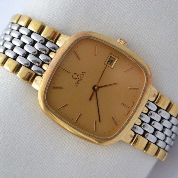 Omega Quartz 1430 Gold