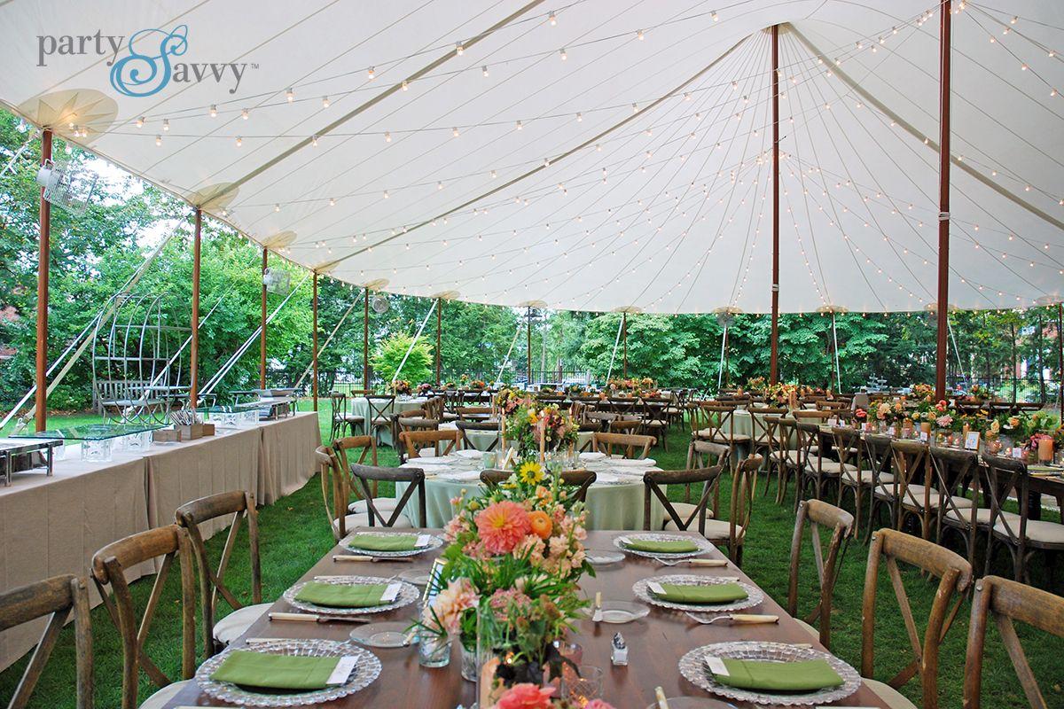 Luxury Tented Wedding Partysavvy Wedding Rentals Pittsburgh Pa Outdoor Winter Wedding Tent Wedding