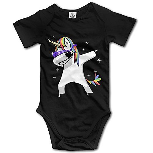 Thats What She Said Newborn Babys Boys /& Girls Short Sleeve Bodysuit Outfits for 0-24 Months Black