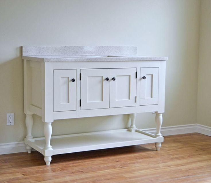 14 diy bathroom vanity plans diy furniture plans diy