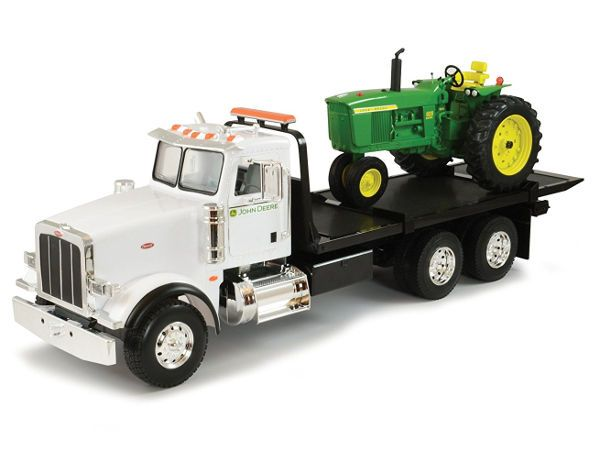 Ertl Big Farm 1:16 Peterbilt Model 367, Roll Off Tow Truck Toy and