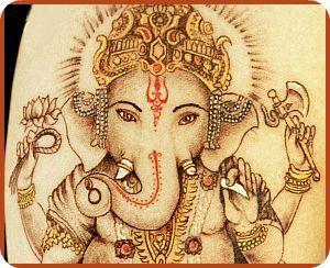 buddhist elephant god tattoo ganesh tattoo henna tattoos indian tattoos tatted up. Black Bedroom Furniture Sets. Home Design Ideas