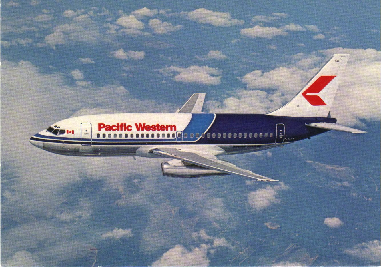 Pacific western boeing pinterest aircraft aviation