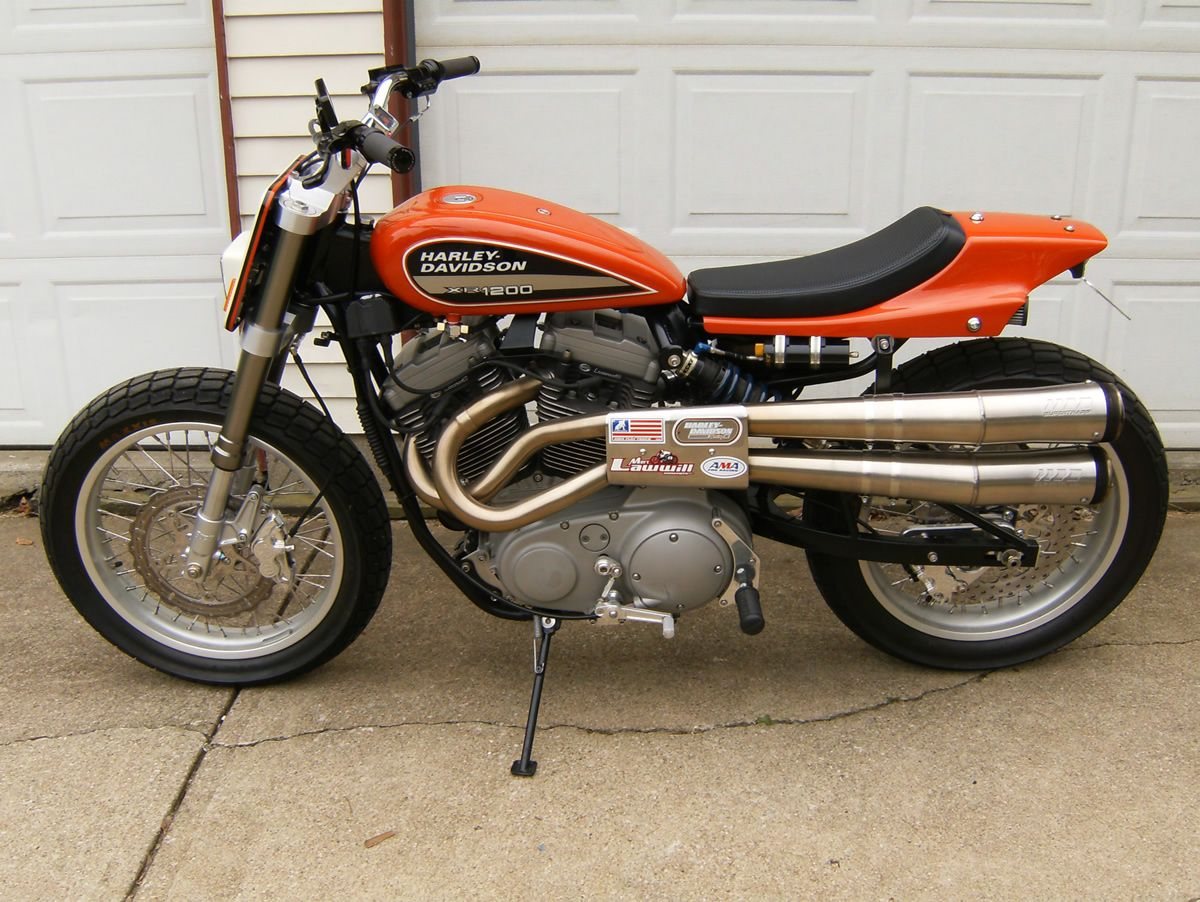 Street tracker with Lawwill heads, Buell forks, C&J frame and much ...