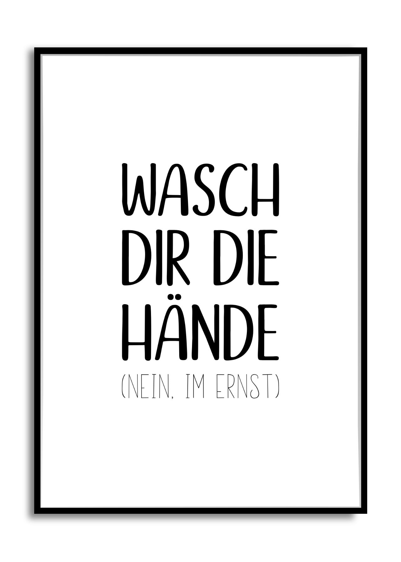 Hop Hop Ans Waschbecken Wasche Weisse Spruche Spruche