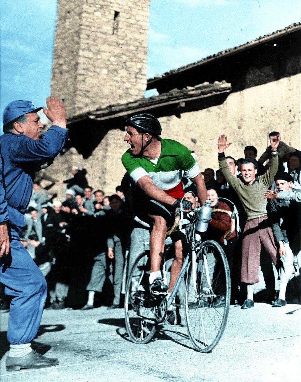 3f1183182 Gino Bartali - Giro d Italia 1954