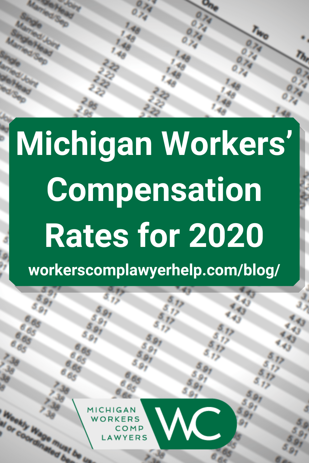 Michigan Workers Compensation Rates For 2020 In 2020