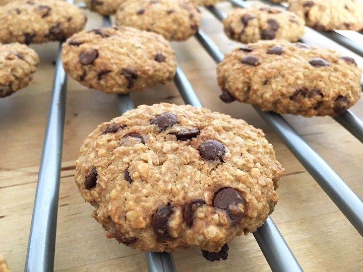 Cookies De Avena Y Chocolate Con Imagenes Receta Facil De