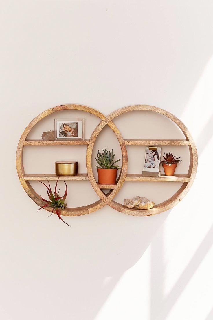 Photo of Dahlila Double Round Wall Shelf