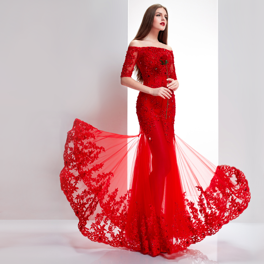 red wedding dress Chinese Red Wedding Dress Choice 6 png