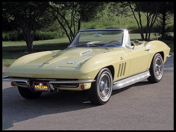 1966 Chevrolet Corvette Convertible 427 450 Hp 4 Speed Chevrolet Corvette Classic Corvette Chevy Corvette